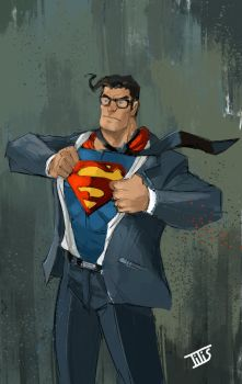 the one and only...Superman by IttoOgamy