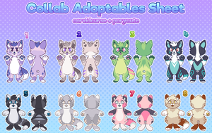collab adopts! (CLOSED!) by porycute