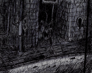 Inktober: Something in the Sewer by TitaniumGrunt7
