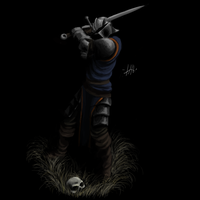 Darkest dungeon, crusader, fan-art. by 1stPeeoner