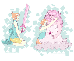 pearl doodles by Conej0s