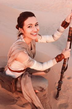 Rey Cosplay - Star Wars by Aicosu