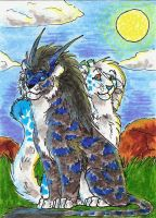 Aceo for Tora by AFrozenHeart