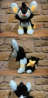 Luxio Plush 2.0 by WhittyKitty