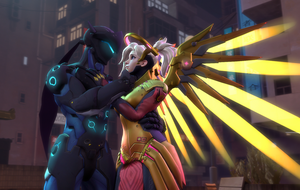 Gency on the street by DarknessRingoGallery