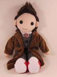 Doctor Who Plush by The-Night-Craft