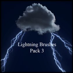 Lightning Brushes Pack 3 by kakefat