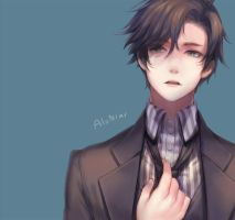 Mystic Messenger Jumin by AloNiar