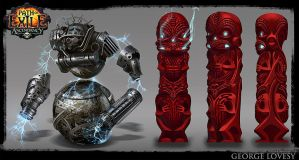 Path Of Exile MTX Designs by GeorgeLovesyArt