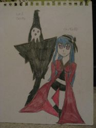 Lord Death and Chikako Light by cat55