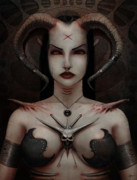 Demoness by mindsiphon