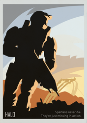Halo poster by SiMonk0