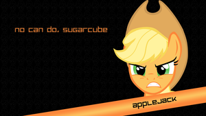 Angry Applejack by pims1978