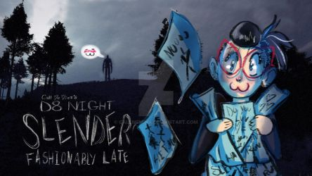 D8 Night: Slender The Arrival Title card by CallMeMina