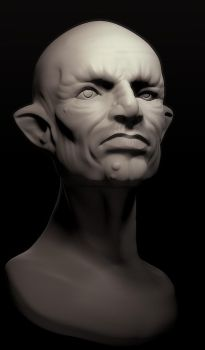 Another Goblin Bust by maxew