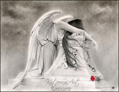 Weeping Angel by Katerina-Art