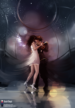 Waltz for the Moon - Final Fantasy VIII - Fanart by danielbogni