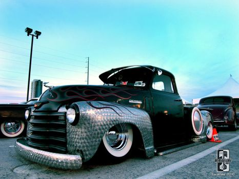 1950s Custom Chevy Truck by Swanee3