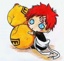 chibi gaara by nt devont by reiky035