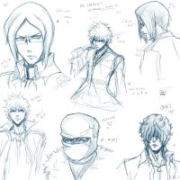 +Bleach Sketches+ by Chinchikurin