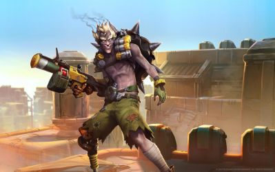 Junkrat, Junker Demolitionist by Mr--Jack