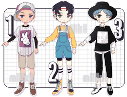 [CLOSED] I was busy thinking bout boys by miilkiiadopts