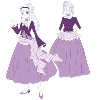 Angel Ravensdale - Outfits 2 (SKETCH) by AnimeRPer1998