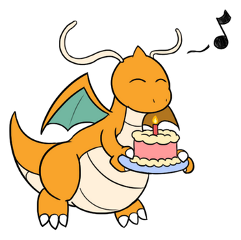 Chibi Dragonite's Delivery by TheGuyNoOneRemembers