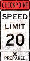Checkpoint Speed Zone by MouseDenton