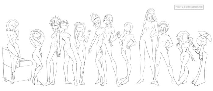 Female anatomy 7 (cartoonish) by Precia-T