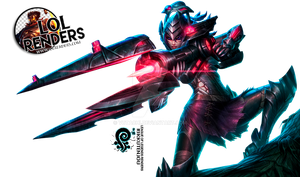 Headhunter Caitlyn Render League of Legends by ViciousBlue