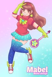 Magical Girl MABEL by Helsic
