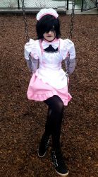Maid Mettaton5 by Genocidal-Cosplay