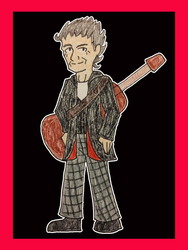 Doctor Who - Aging Punk Rocker by PrincessHannah