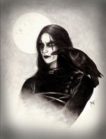 The Crow by Wild-Huntress