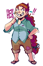 Kid Abigail by ToxicToothpick