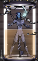 Pacified Neytiri 4/5 (commission) by Re-Maker