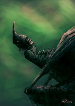 LOTR Nazgul Dragon by Lu-Sc92