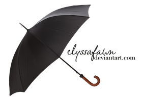 PNG (39) BLACK UMBRELLA by elyssafawn