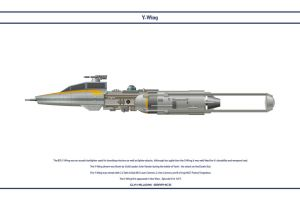 Y-Wing Gold Leader by WS-Clave