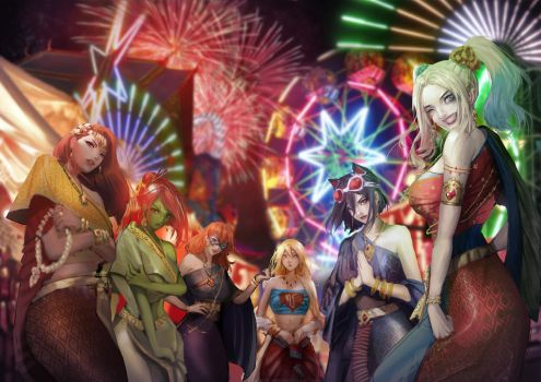 Happy New Year by omegarer