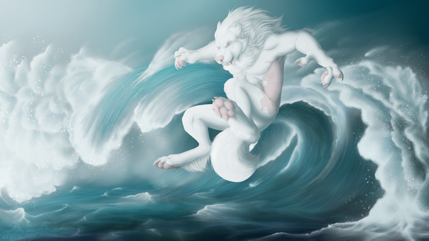 PA :: White Wave by RaptorVonSqueaker