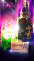 Yamazaki 12 Year Old Whisky - Abstract Edit by idlebg