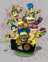 The Koopalings by animated-shark
