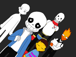 Undertale Collab 106 by Underbases