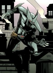 Shadowhawk by johnnymorbius