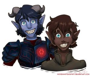 Toothy Grins by hiddenwriterspirit