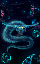 Ghost Leviathan - Subnautica by Raimey-L
