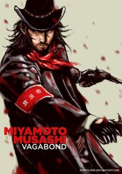 miyamoto musashi, cowboy version by scretchme