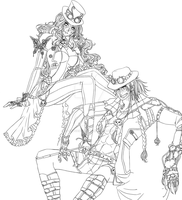 OP OC. Allen and Athena. WIP. by Portgas-D-Hato